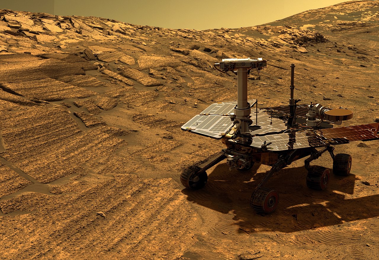 Spirit and Opportunity Rovers Rover