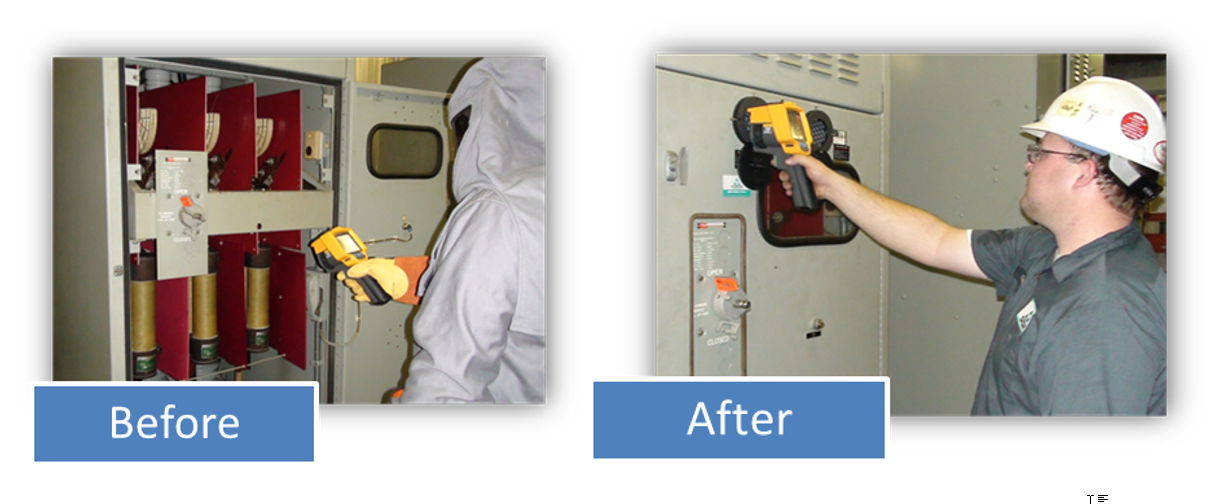 perform thermography without additional PPE