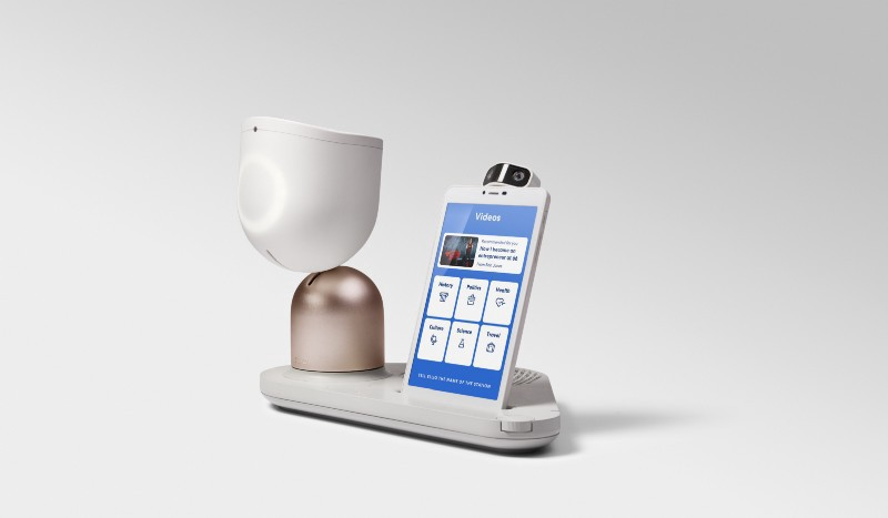 ElliQ Smart Speaker and Tablet for aging in place: AI in Healthcare with Michael Ferro