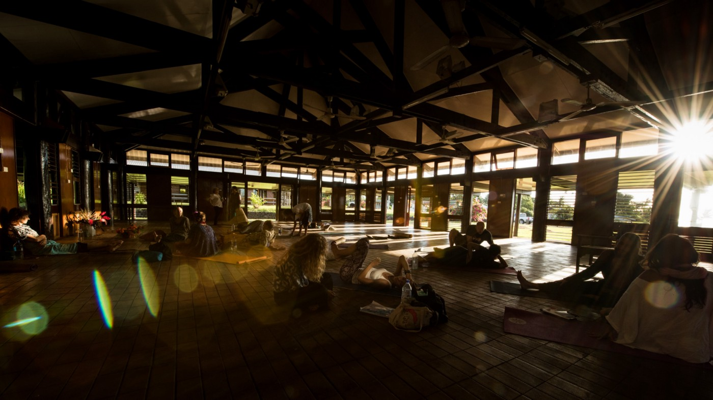 The Taveuni Chief's Meeting Hall with Mark Whitwell | Heart of Yoga