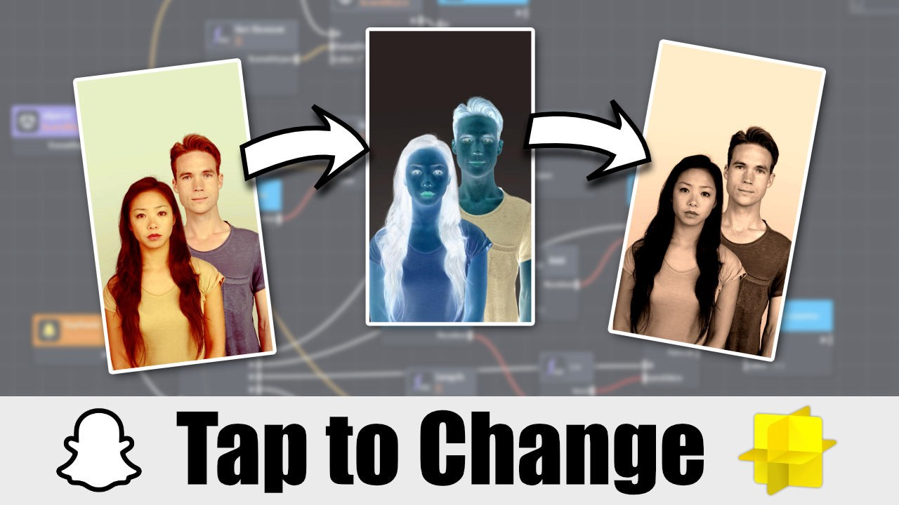 Tap to Change with Lens Studio
