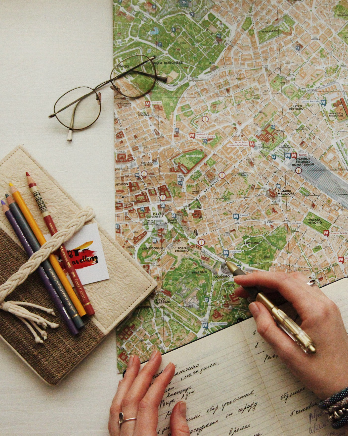 Photo by oxana v on Unsplash. Person with hand on streetmap.