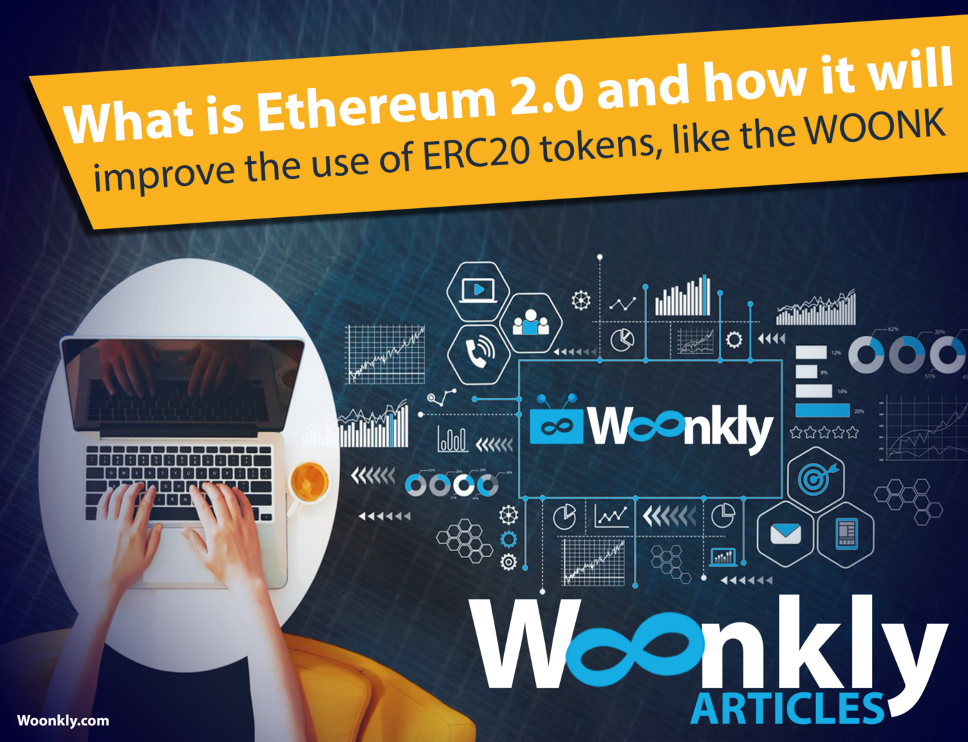 What is Ethereum 2.0 and how will it improve the use of ERC20 tokens, like the WOONK?