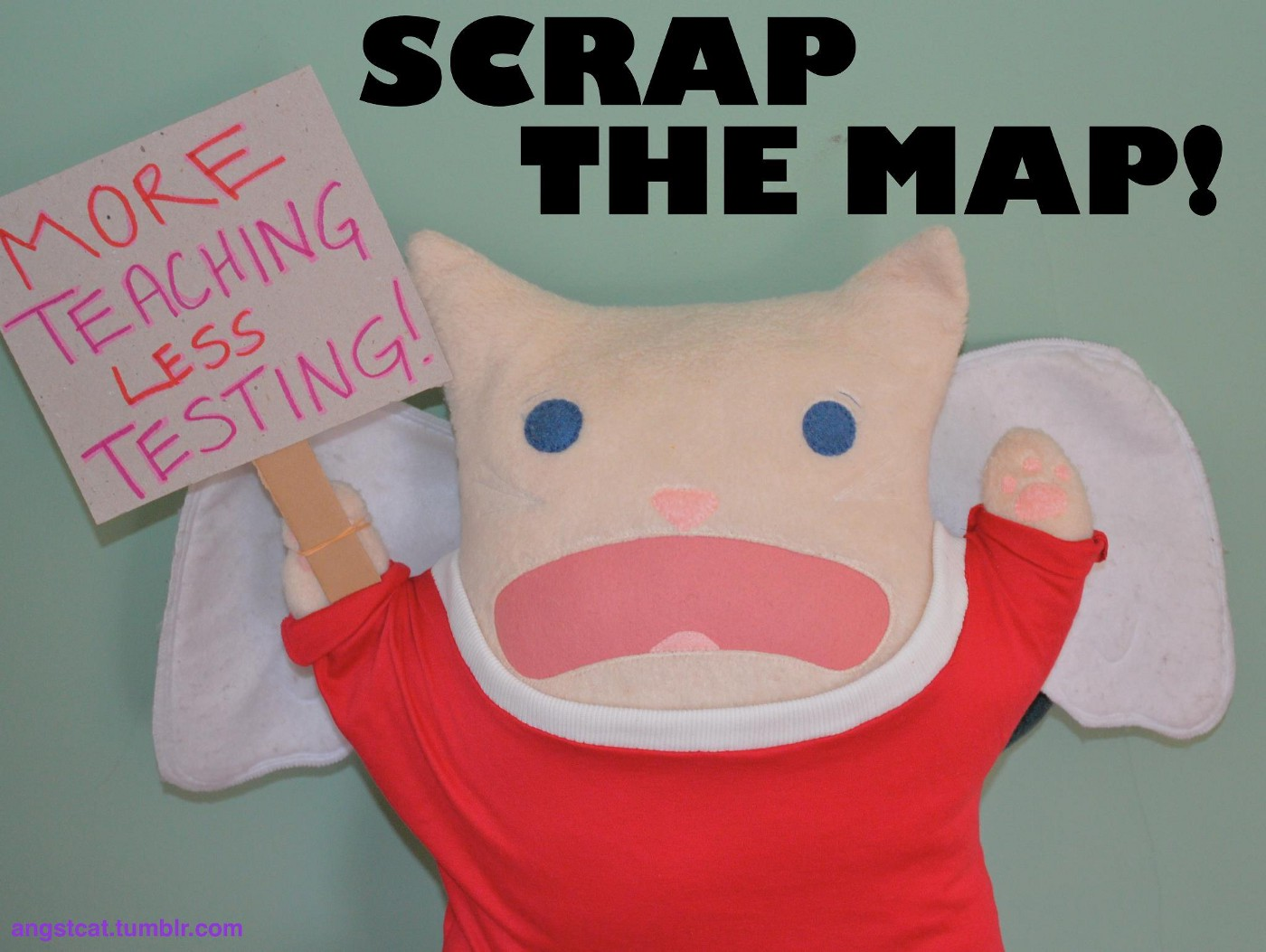Scrap the MAP. More teaching. Less testing!