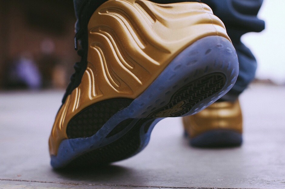 """new concept e6ee4 5905d Nike air foamposite one metallic gold review """"— Gold has ..."""