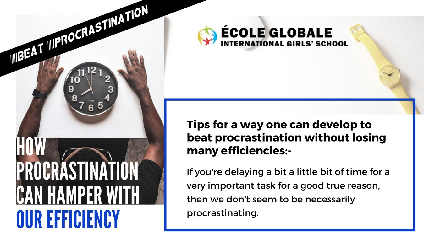 How Procrastination Can Hamper With Our Efficiency