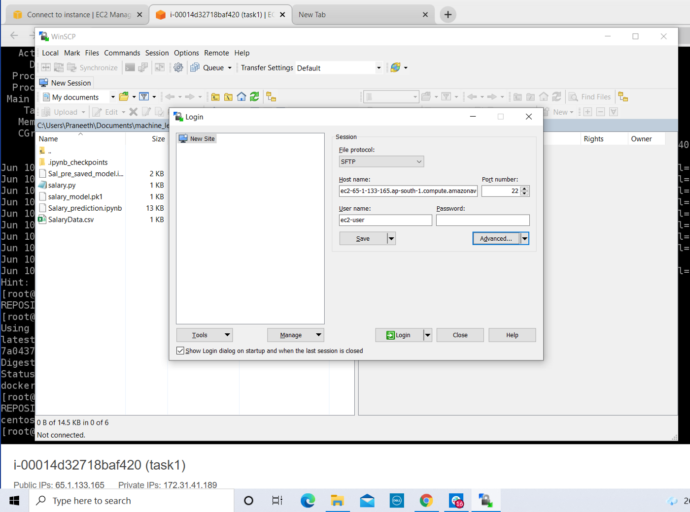Creating ML Model in Docker Container   by Kothapally Gnana ...