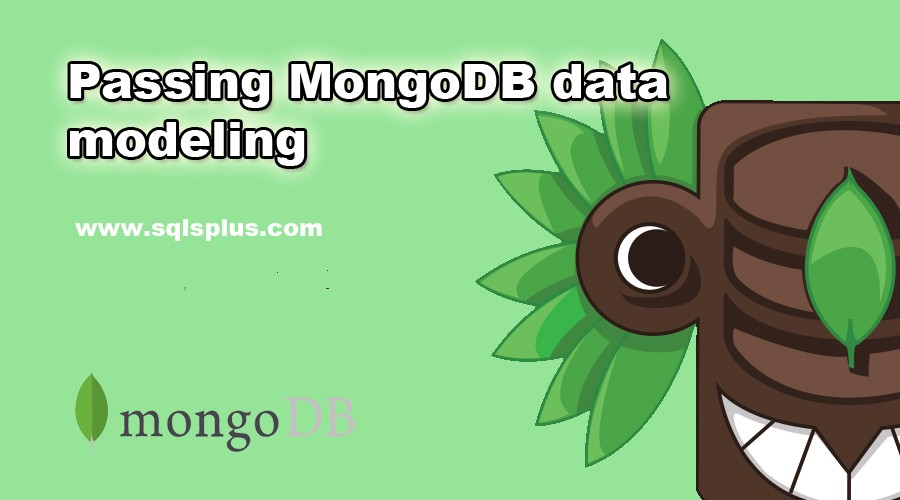 Passing MongoDB data modeling