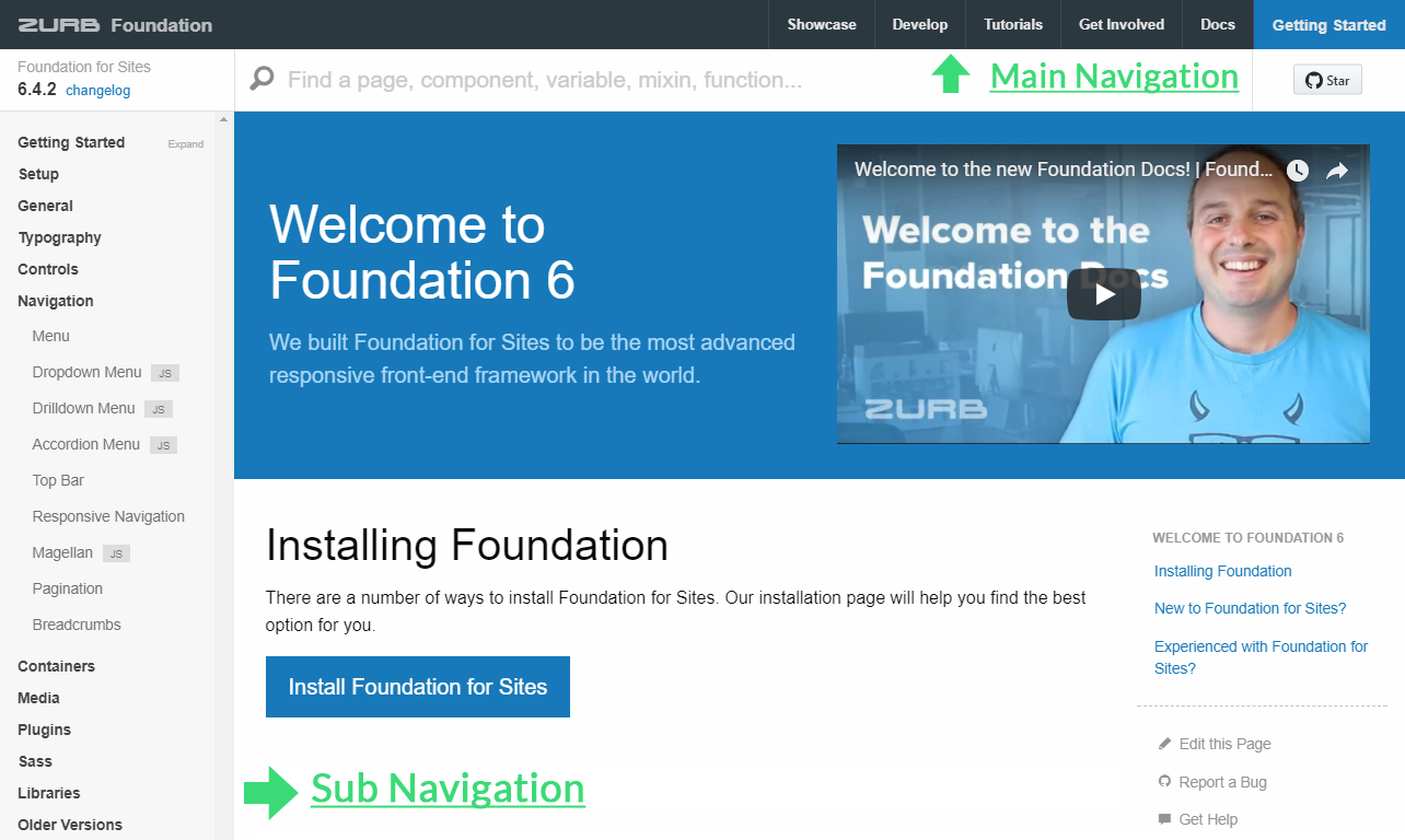 Part 2: Bootstrap 4 vs Foundation 6 4 — Responsive Navigation