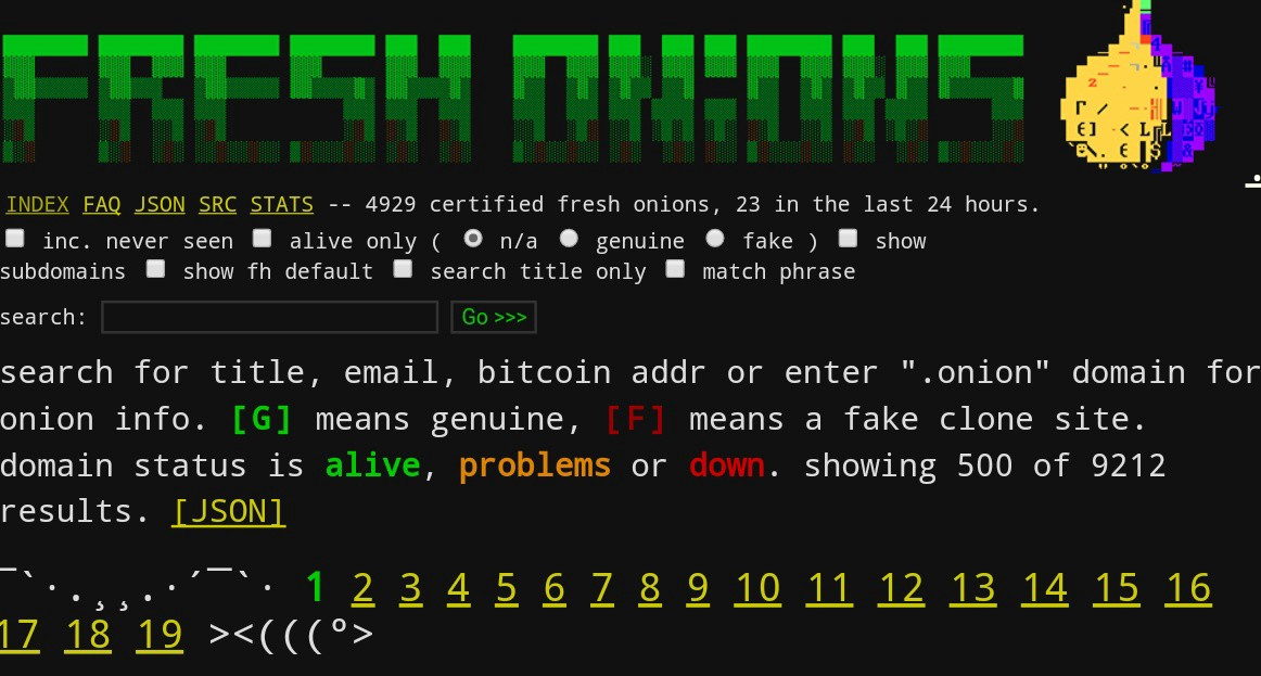 """An Interview with the Creator of the Darknet Search Engine """"Fresh"""