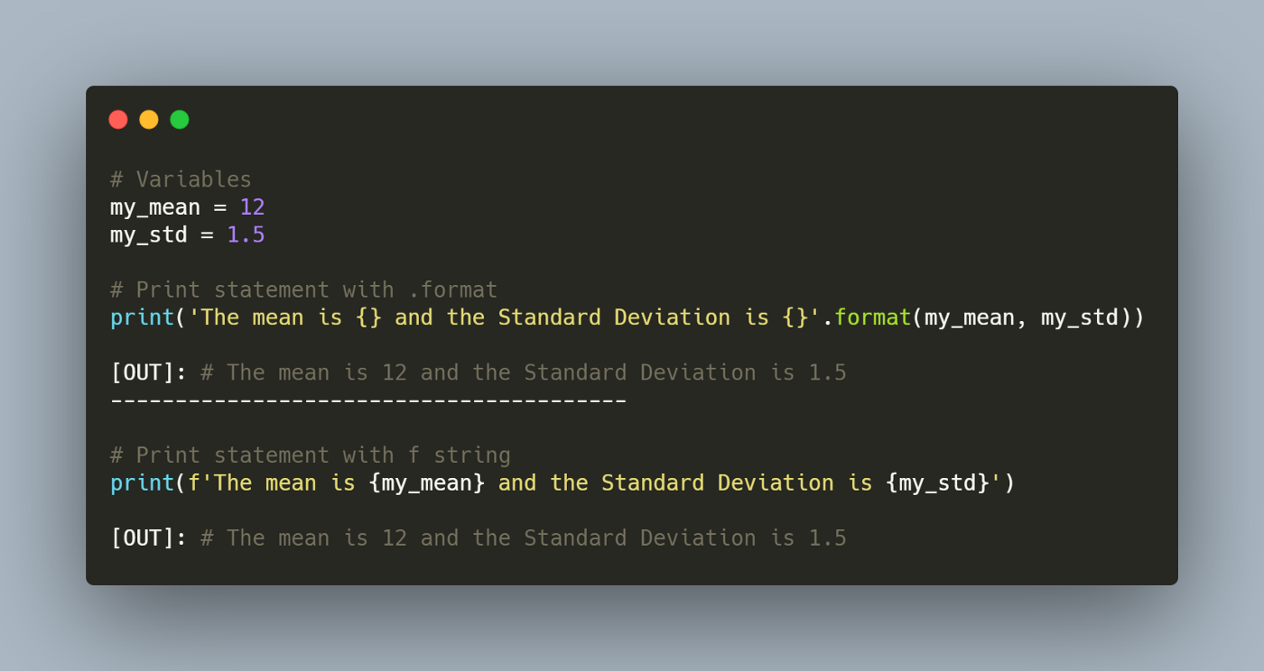 F string the easiest way to print in Python   gustavorsantos ...