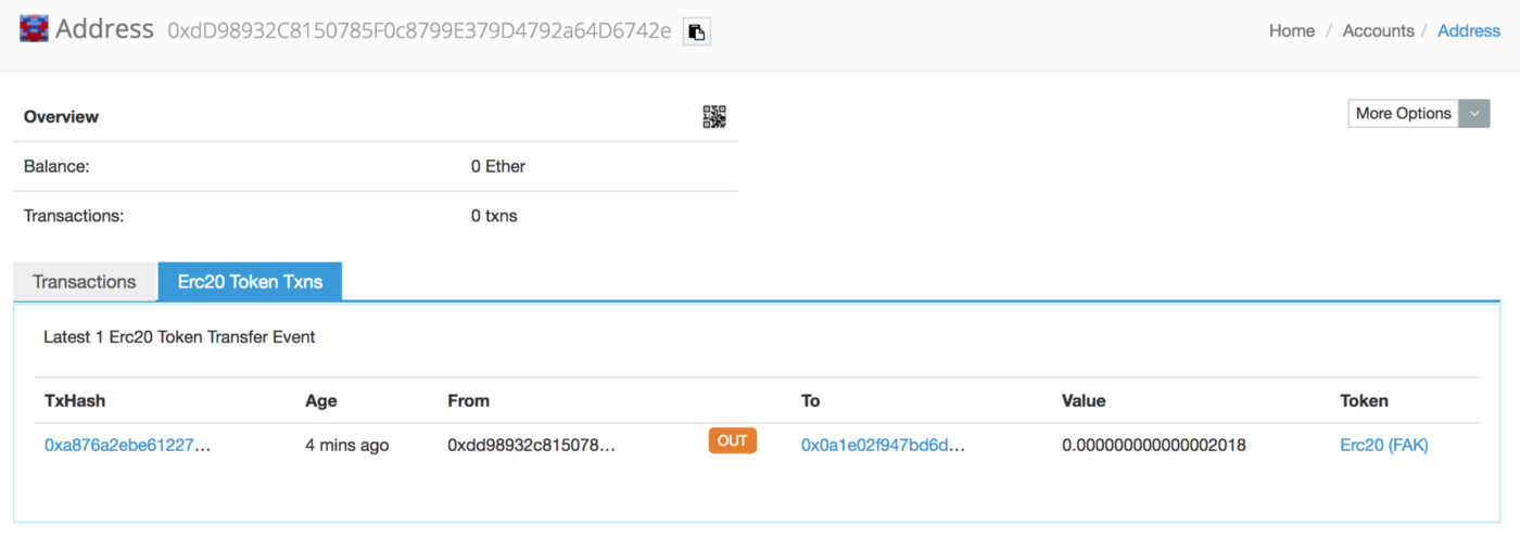 Etherscan Tricks: Transfer ERC20 Tokens Out Of Thin Air
