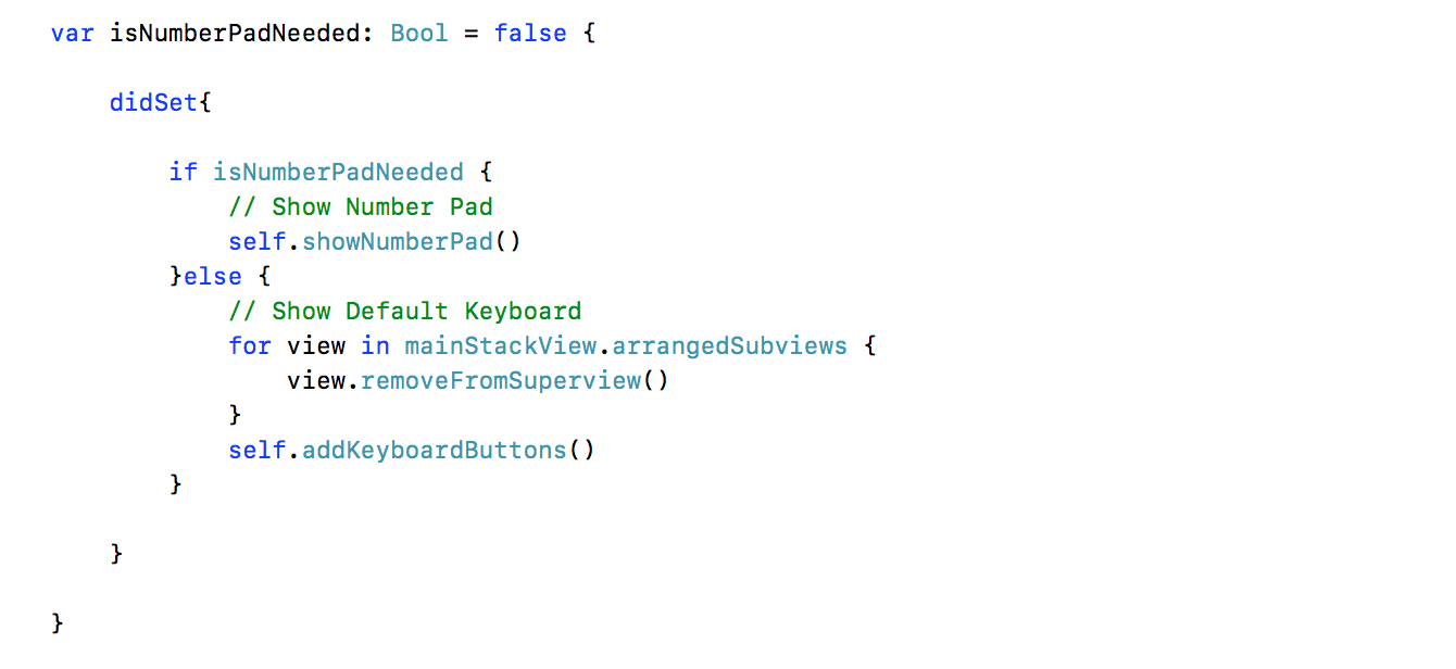 Creating a Custom Keyboard In IOS… - Swift India - Medium
