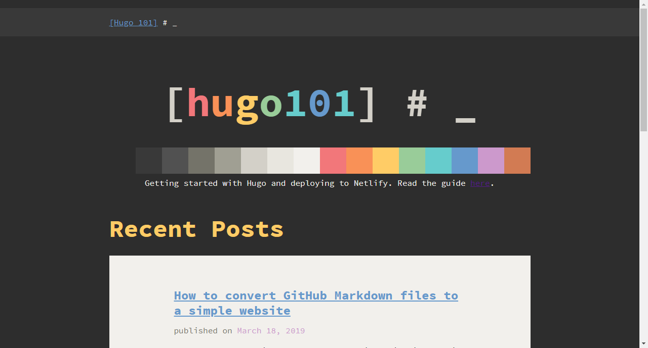 How to build a static site generator