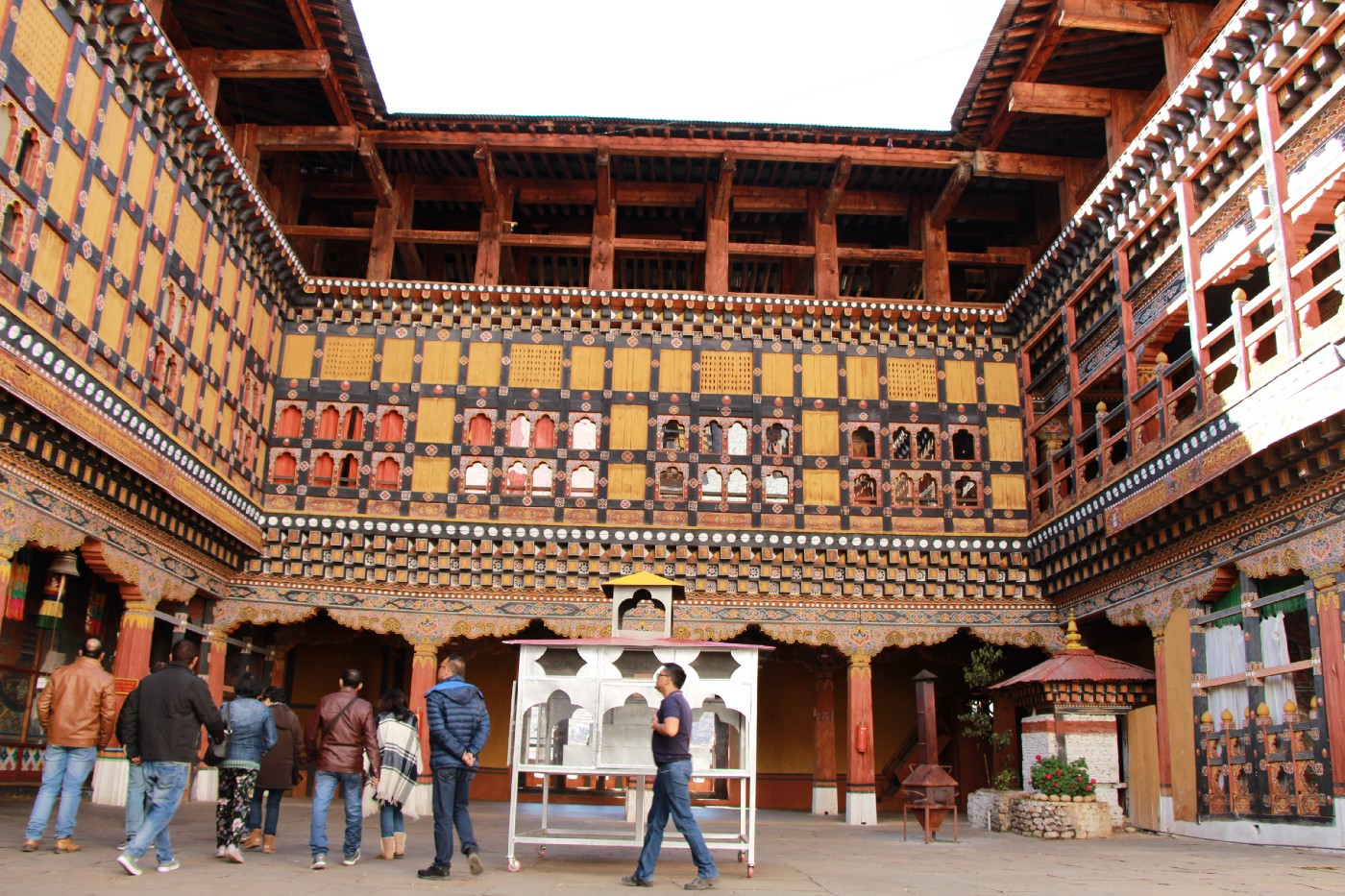 Circa 2018–7 days Solo Travel to Bhutan on a shoestring budget…