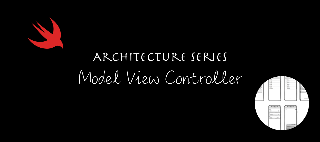 """Title screen with the words """"Architecture Series: Model View Controller"""""""