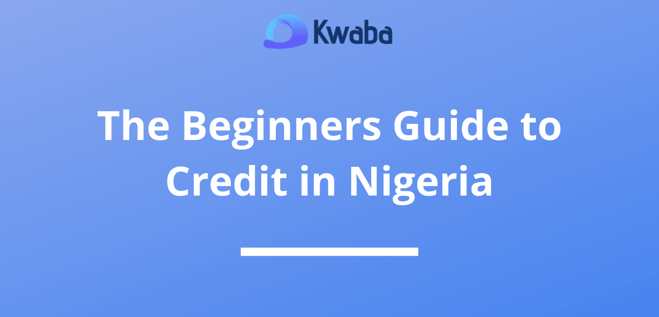 The Beginners Guide to Credit in Nigeria