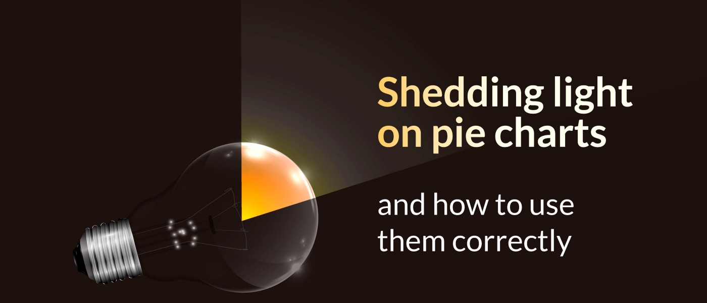 Shedding light on pie charts and how to use them correctly