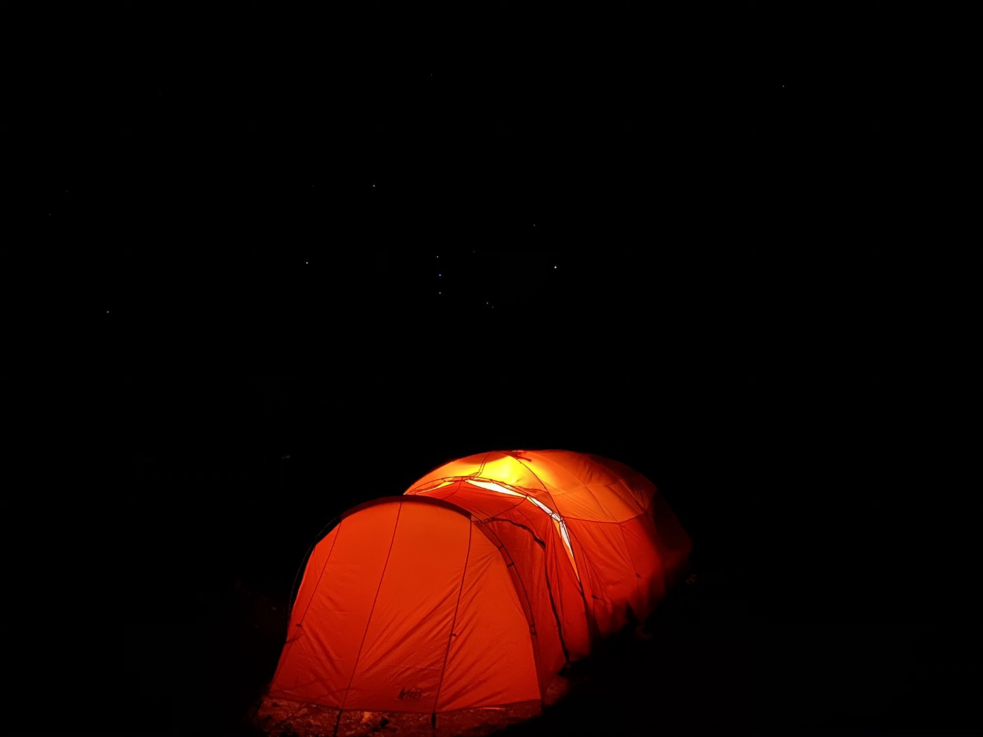 Photo by Stance Hurst, Tent under the Starry Sky