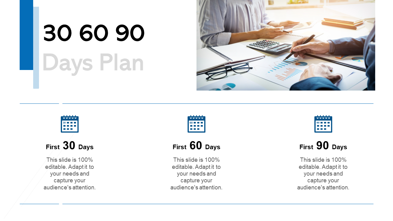 30 60 90 Day PPT Template
