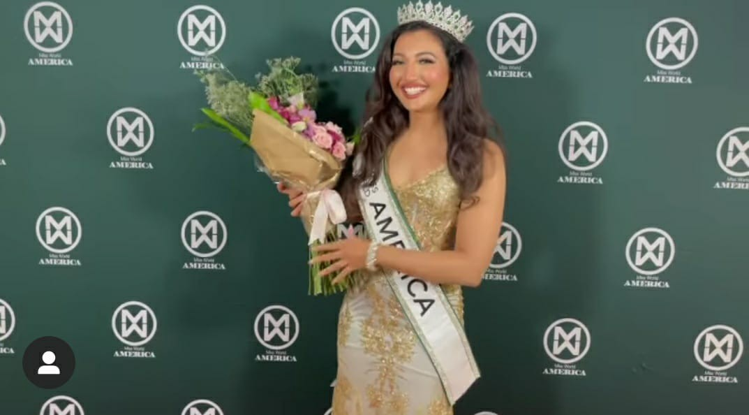Shree Saini becomes the first Indian Girl crowned with Miss World America 2021