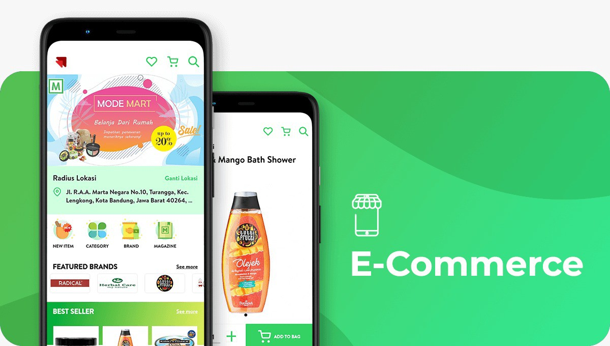 Are you a business owner who wants to expand your business? Promote your product in an excellent online shopping application with Emveep e-commerce application