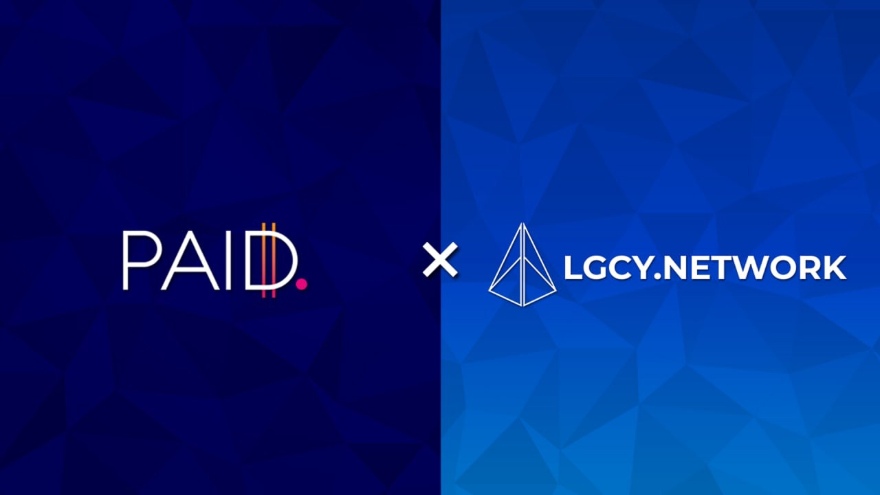 Partnership Announcement: PAID x LGCY Network