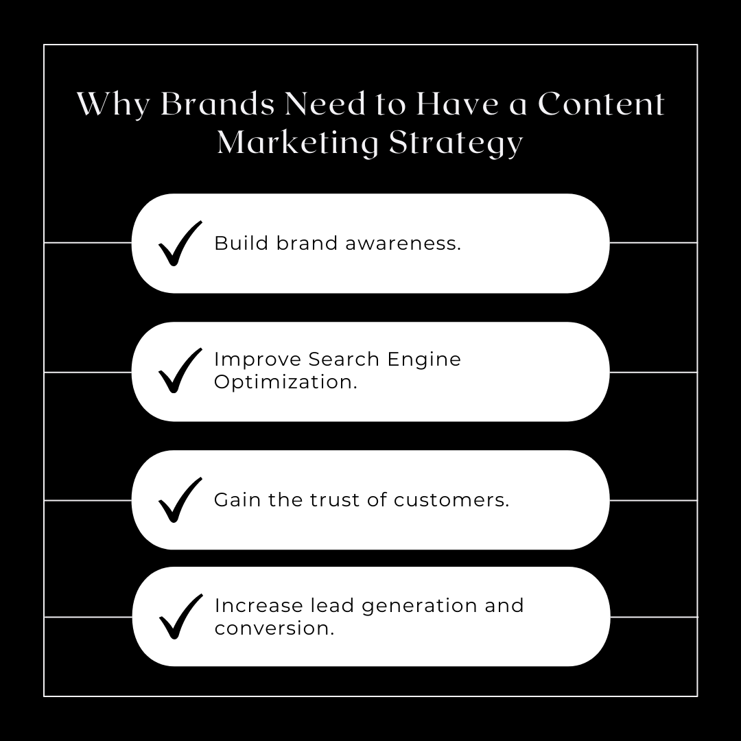 Why Brands Need to Have a Content Marketing Strategy?