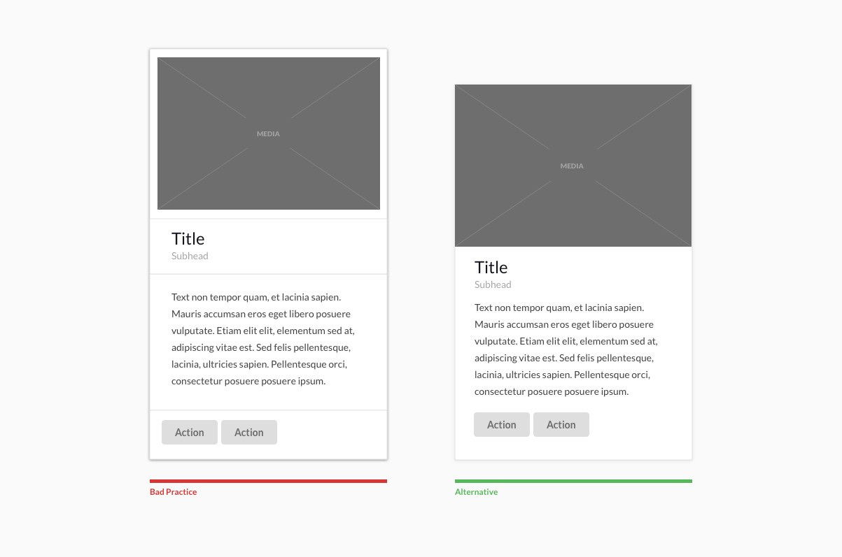 Design Better Cards - UX Collective