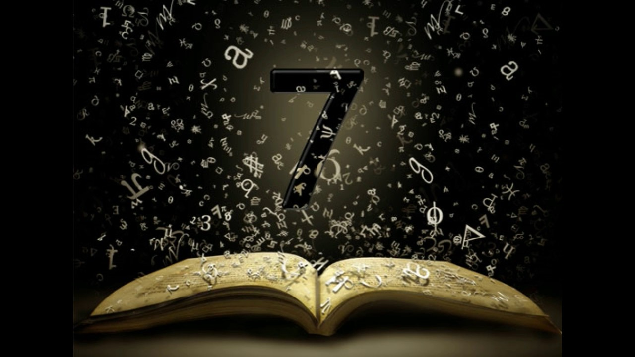 Book opens with numeral 7