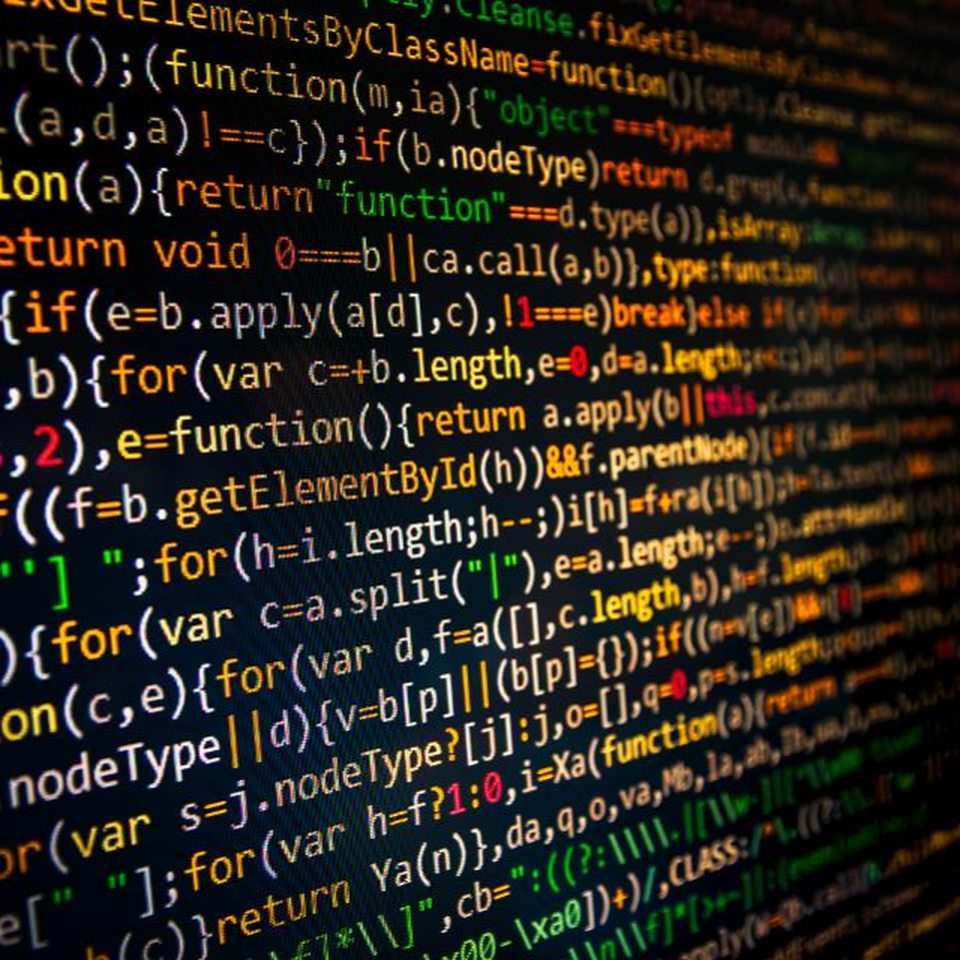 A picture of html codes