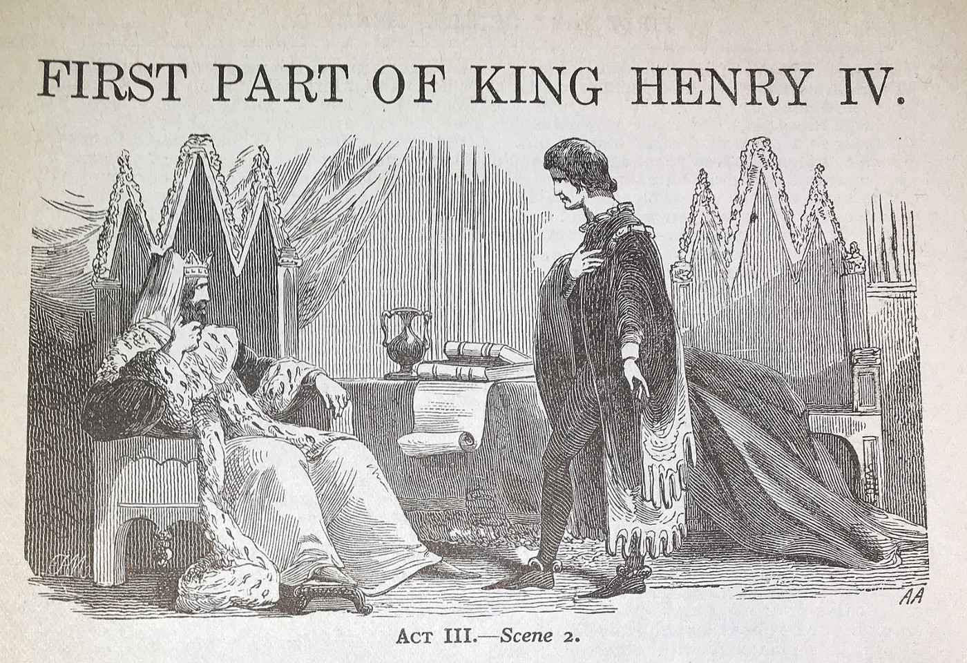 A Scene from Henry IV, Part 1 (Source: Wikipedia)