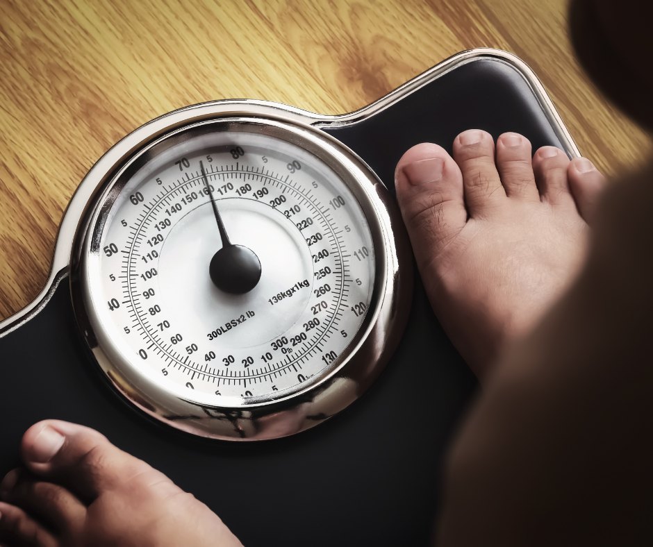 Image of Weight Scale from above
