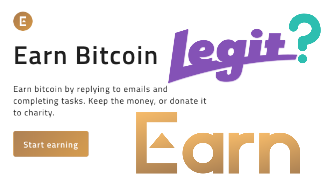 Is Earn com a legit way to earn Free Bitcoins? - Yousuf