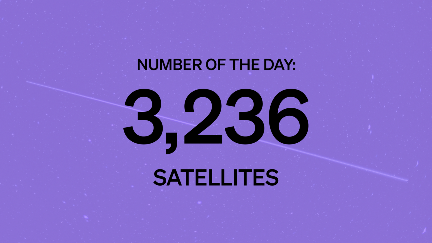 Number of the Day: 3,236 Satellites