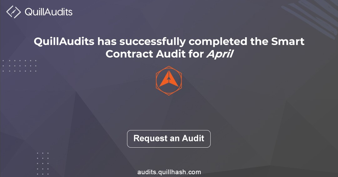Smart contracts auditing report | April smart contract audit report