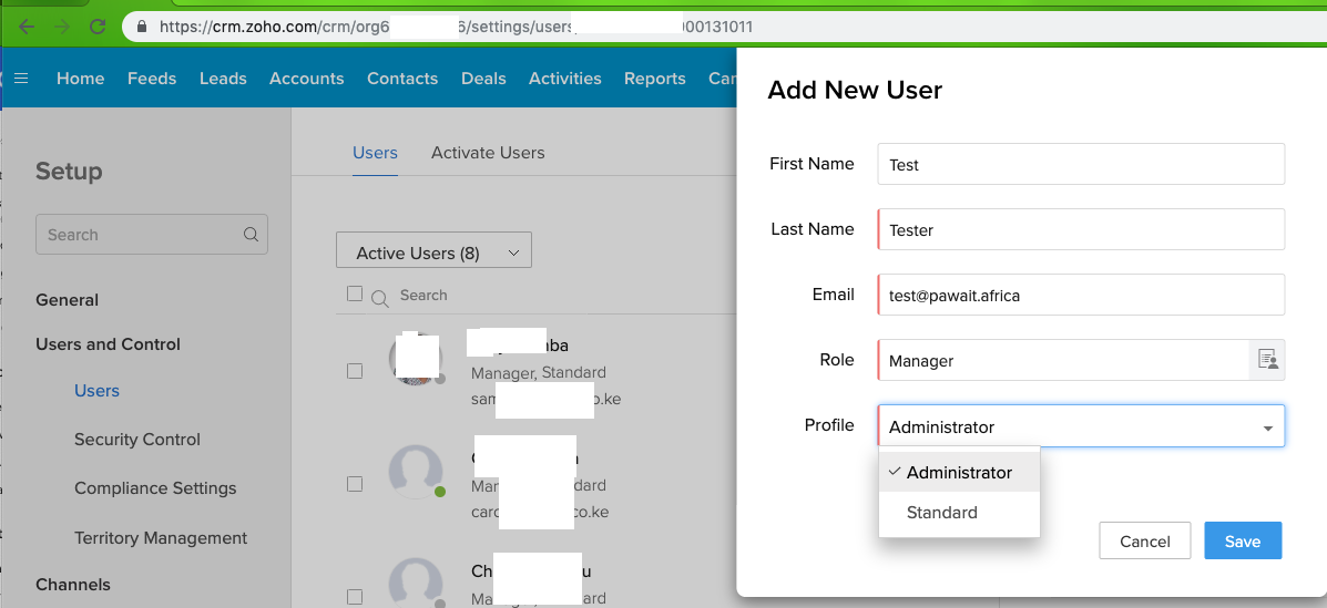 Zoho CRM Integration with G Suite/Gmail - Pawa IT Solutions - Medium