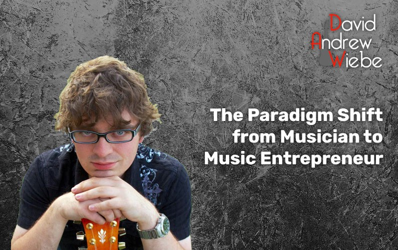 The paradigm shift from musician to music entrepreneur