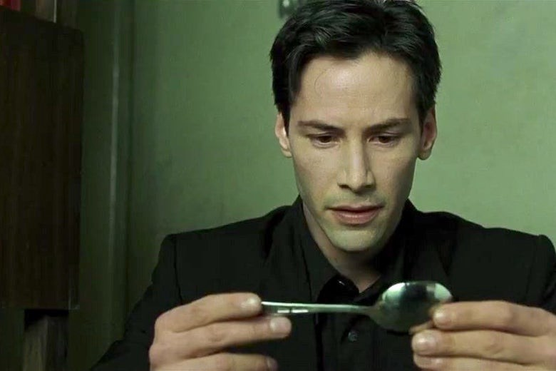 Keanu Reeves in The Matrix. Warner Bros/Village Roadshow Pictures