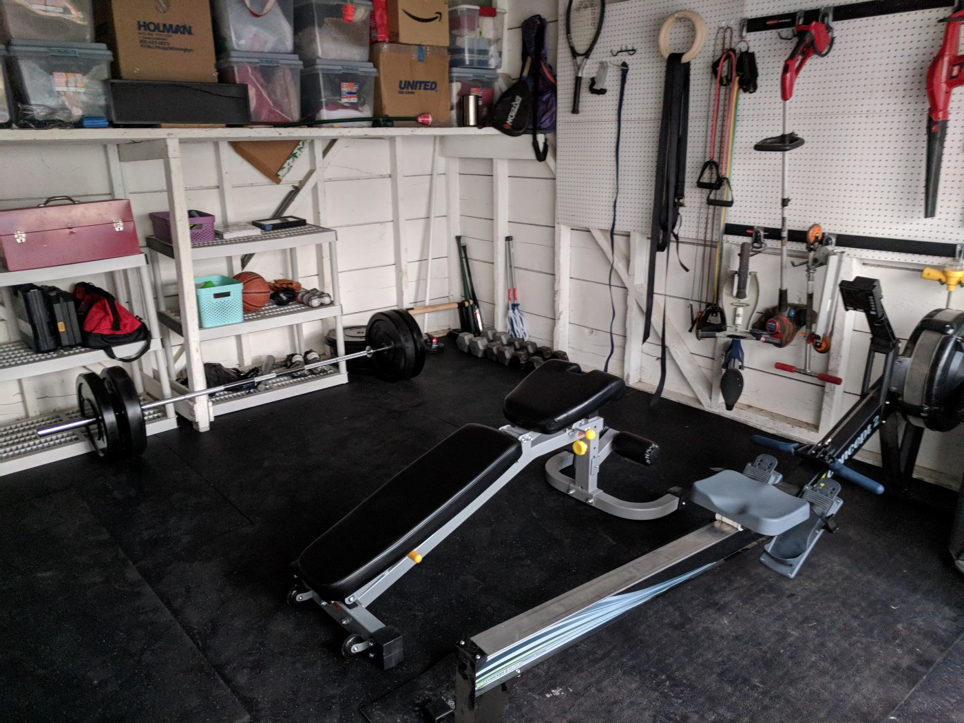 Diy the garage gym adam neary medium