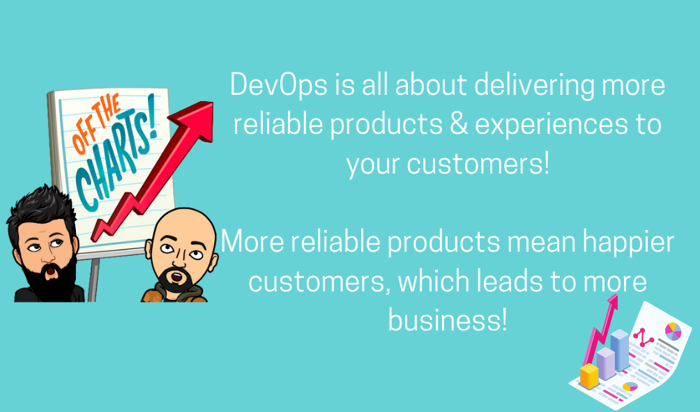 DevOps is all about delivering more reliable products & experiences to your customers. | @iSwamiK
