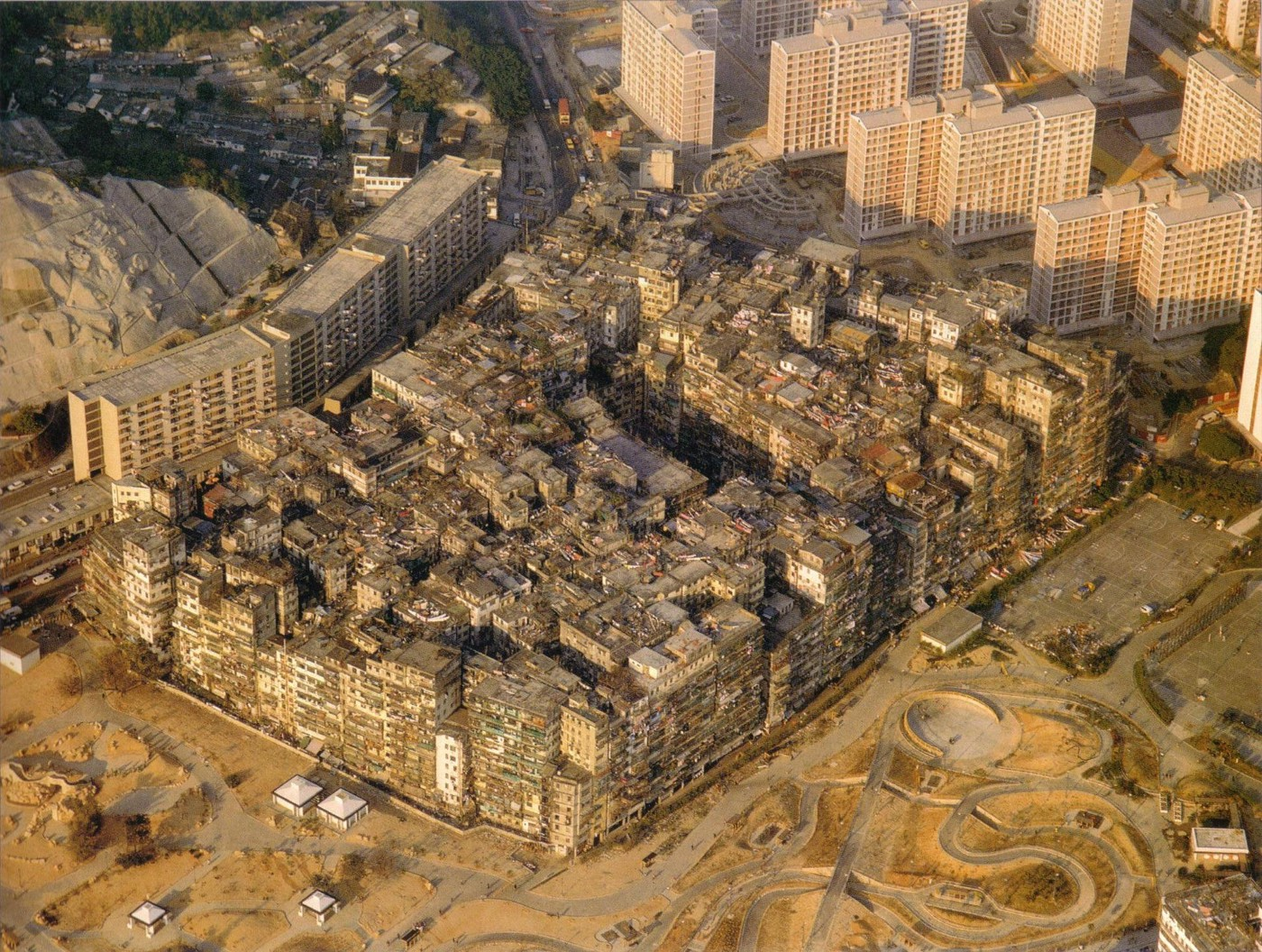 Kowloon Walled City, the city of darkness