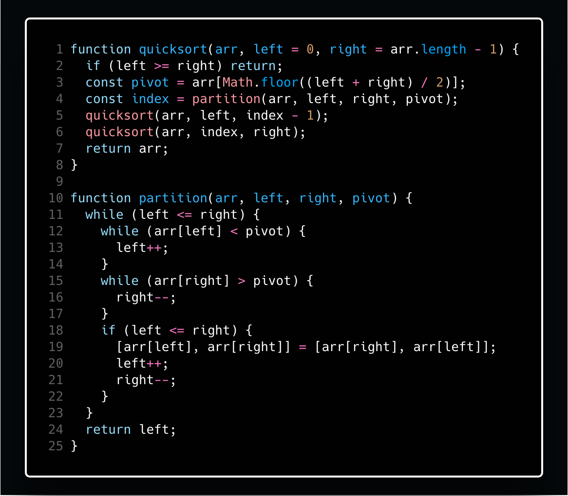 A sort of quick guide to quicksort and Hoare's partitioning scheme