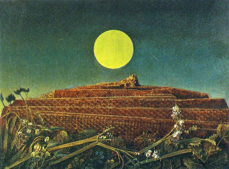 'The Entire City' by Max Ernst. Oil on canvas, 1935.