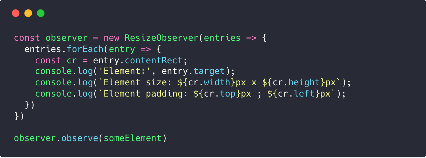 Making responsive Vue components with ResizeObserver
