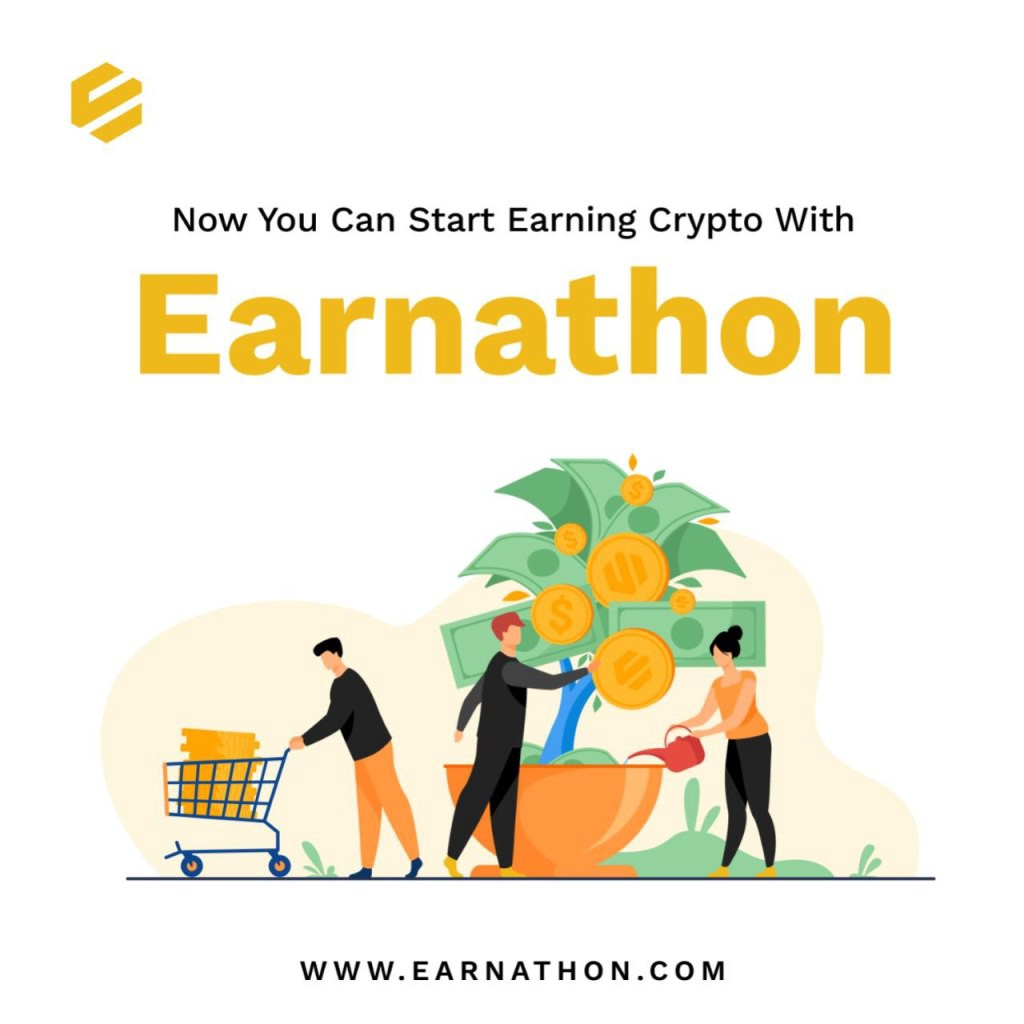 Letter to the Earnathon Community. Learn about blockchain and cryptocurrency and earn tokens on earnathon