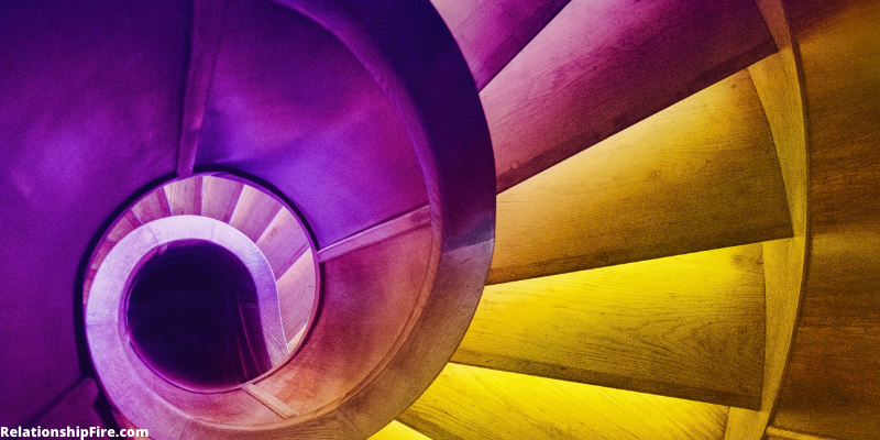 Colorful winding staircase—I Tried Sex Hypnosis—Here's What Happened