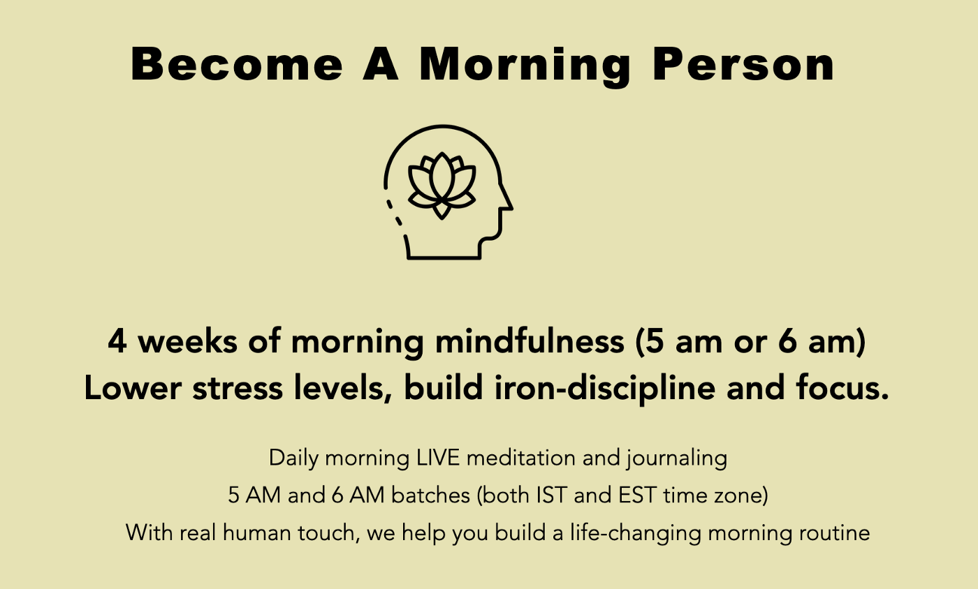Become a Morning Person Bootcamp
