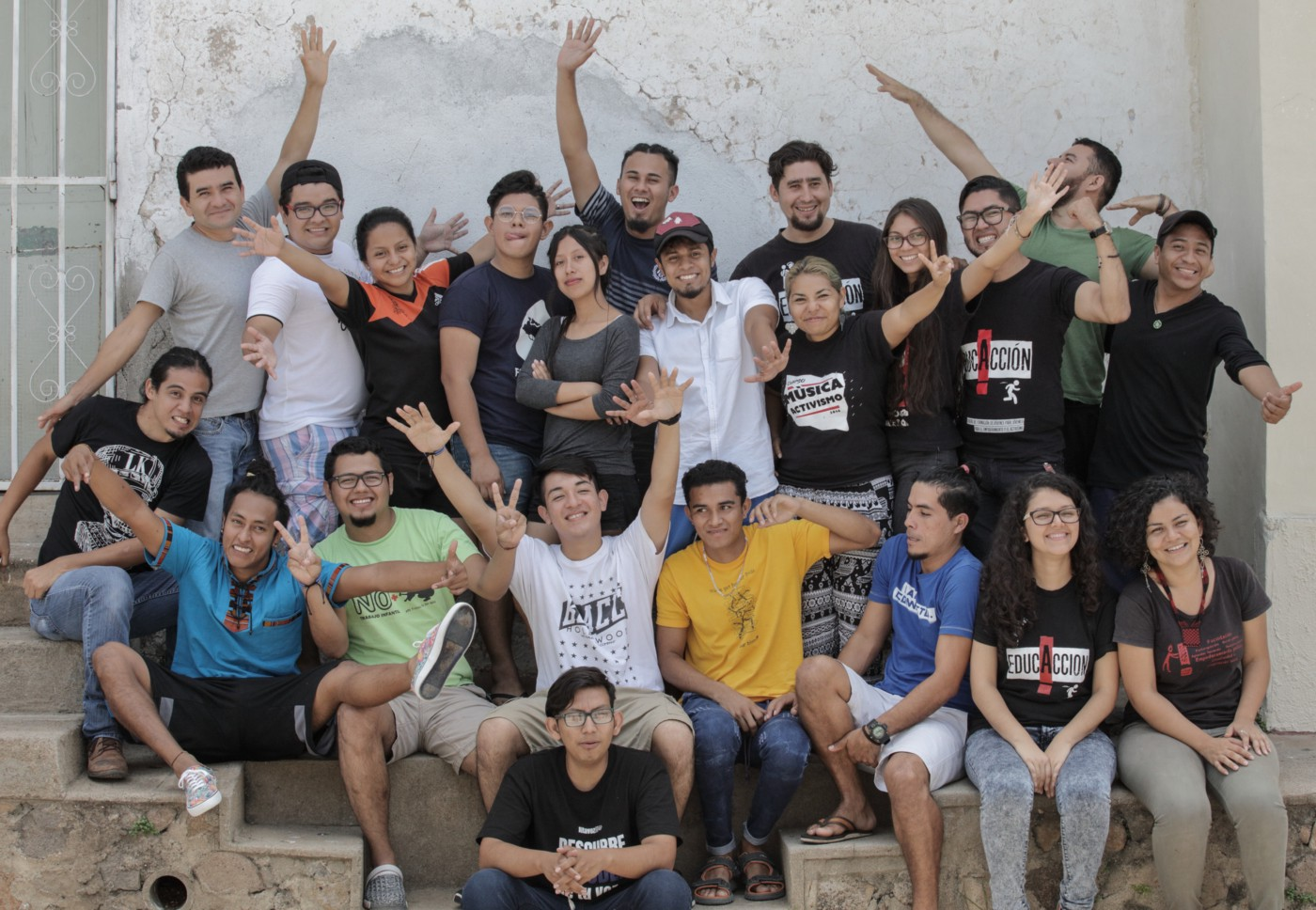 The Global Platform El Salvador organization—a youth activism, campaigning, and training group. Photo: Oscar Leiva/Oxfam