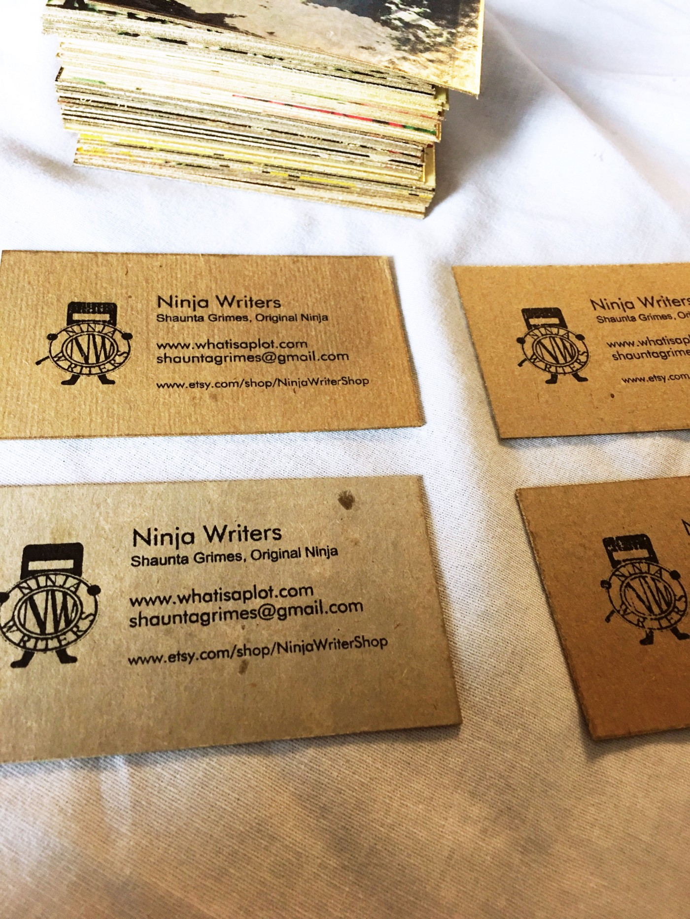 How to Make Killer Business Cards from Recycled Record Covers